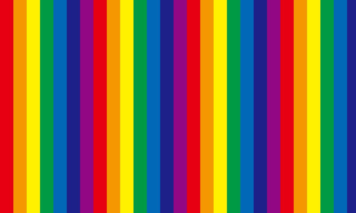 虹色ストライプの背景画像 PNG
