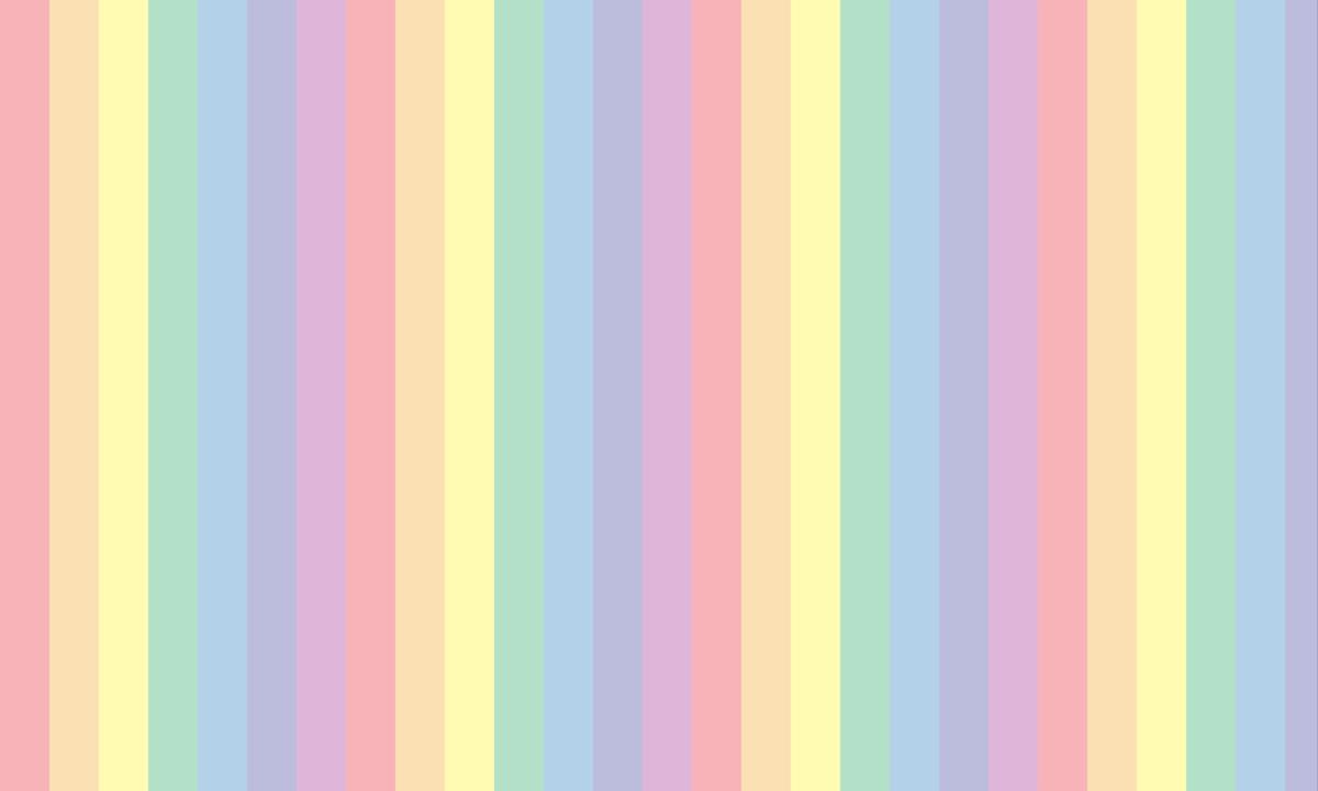 もっと淡い虹色ストライプの背景画像(縦) PNG