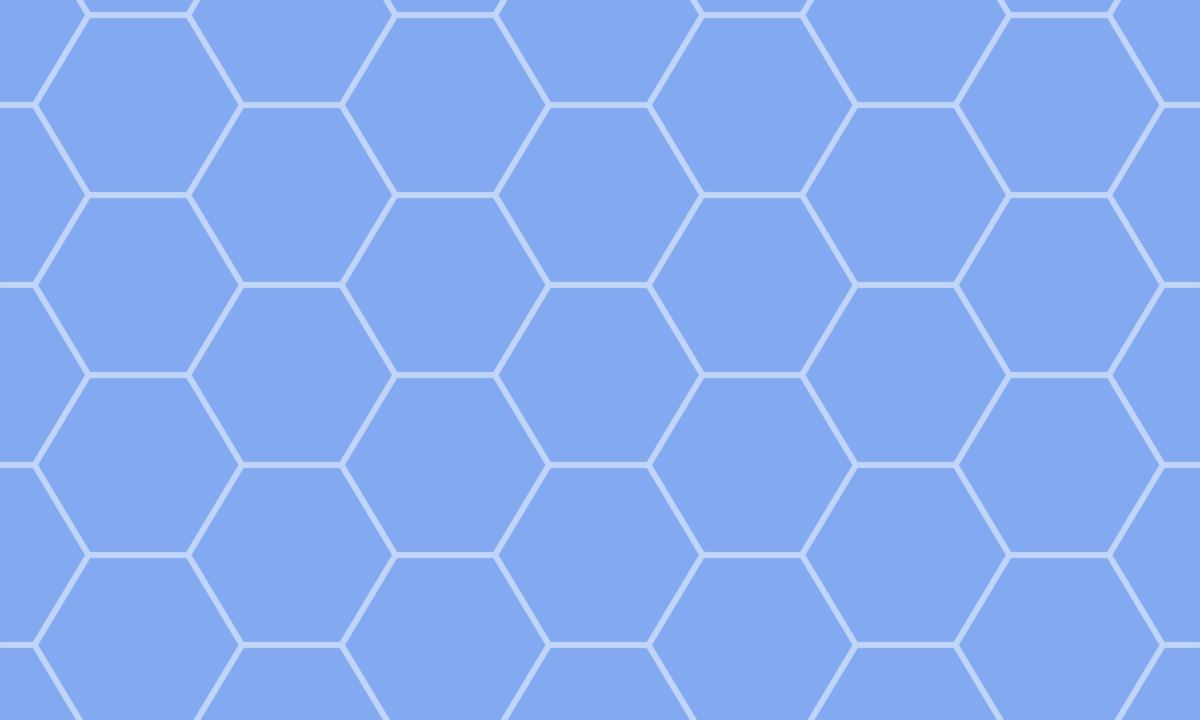 亀甲模様(六角形パターン)の背景画像 2 PNG