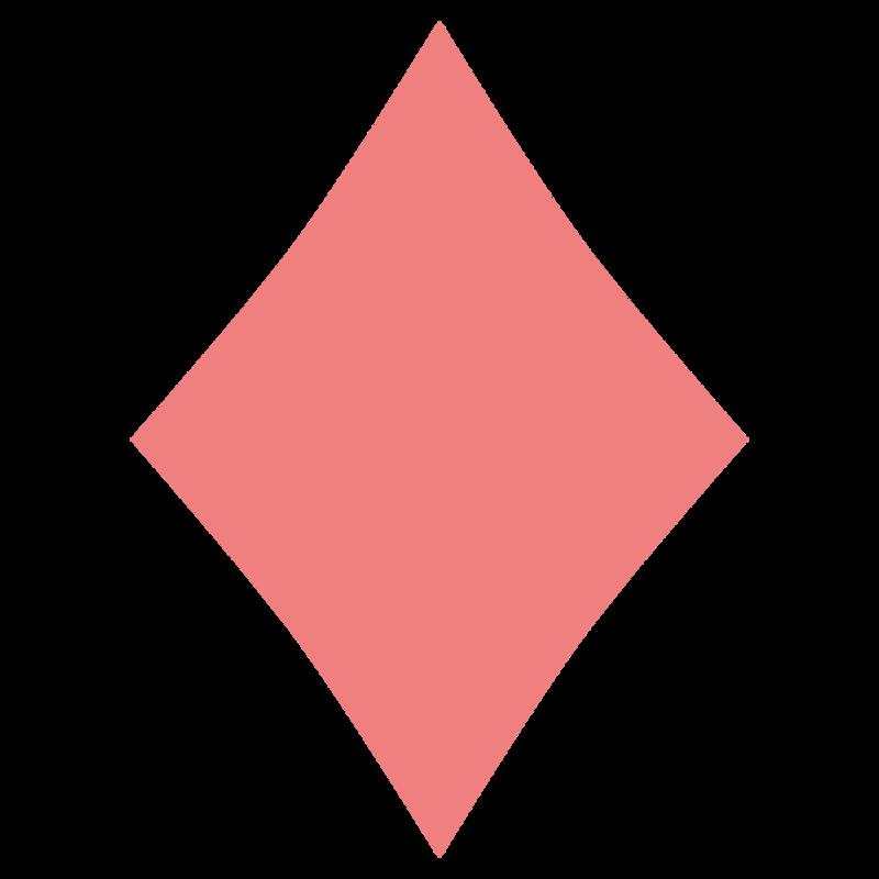 シンプルなダイヤ柄 PNG