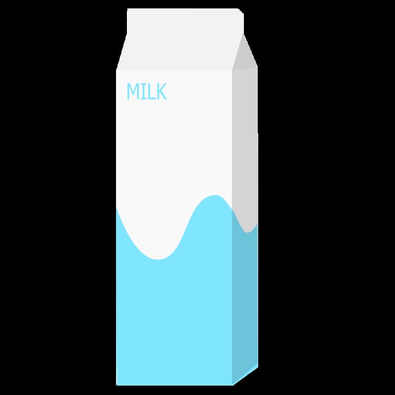パックの牛乳(1000mL) PNG