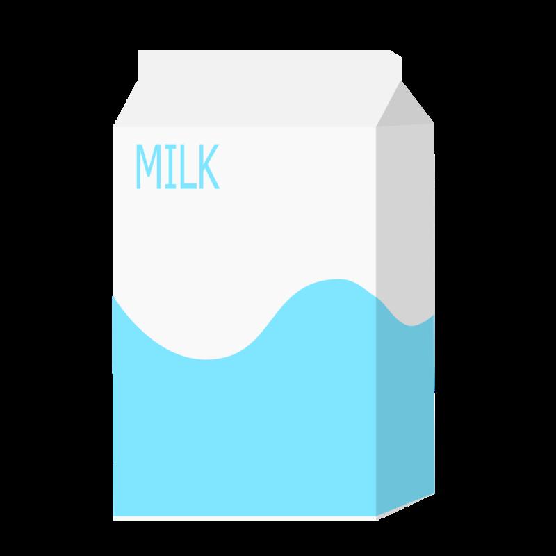 パックの牛乳(500mL) PNG