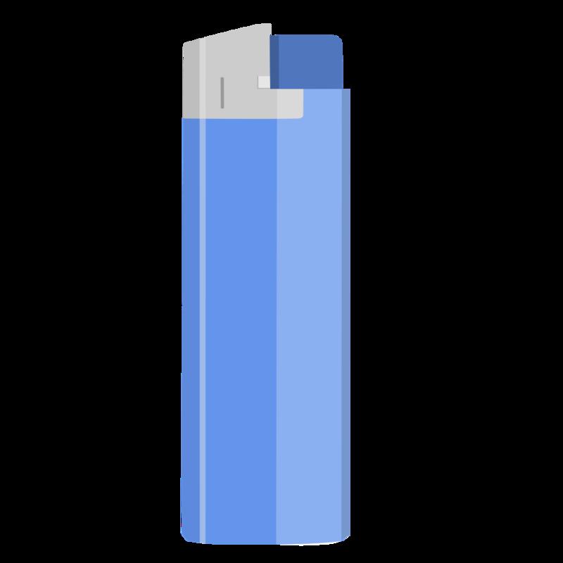 使い捨てライター PNG