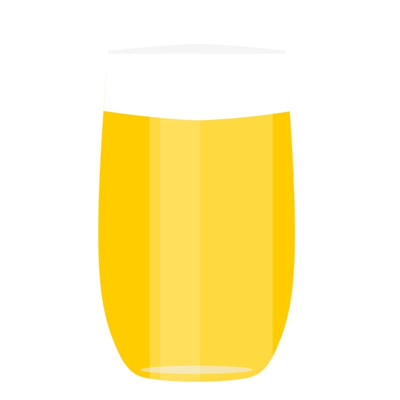 グラスビール PNG