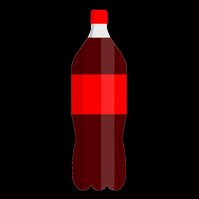ペットボトルのコーラ PNG