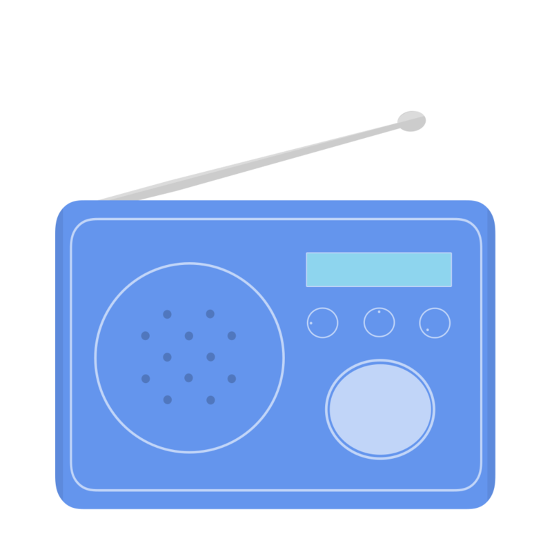 ポータブルラジオ PNG