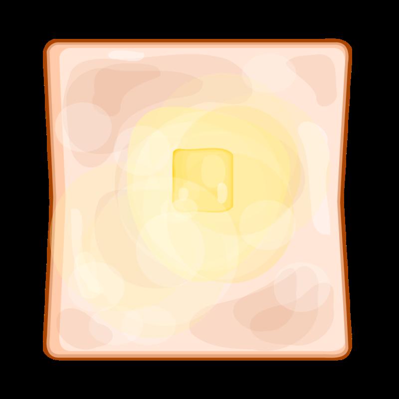バタートースト PNG