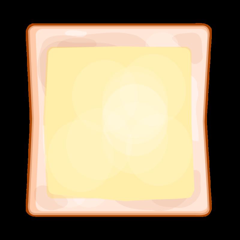 チーズトースト PNG