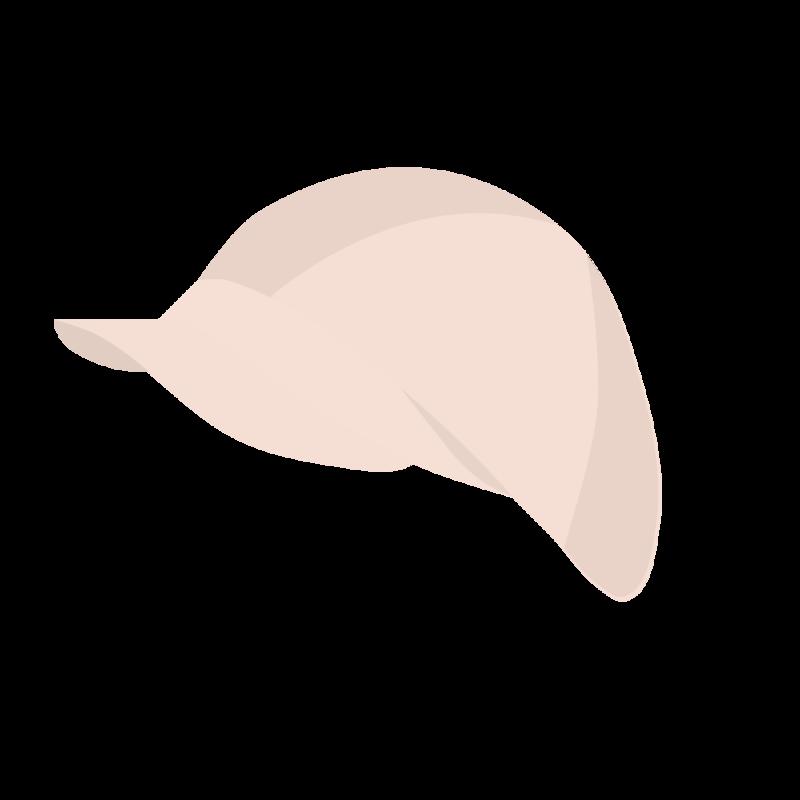 キャスケット帽 PNG