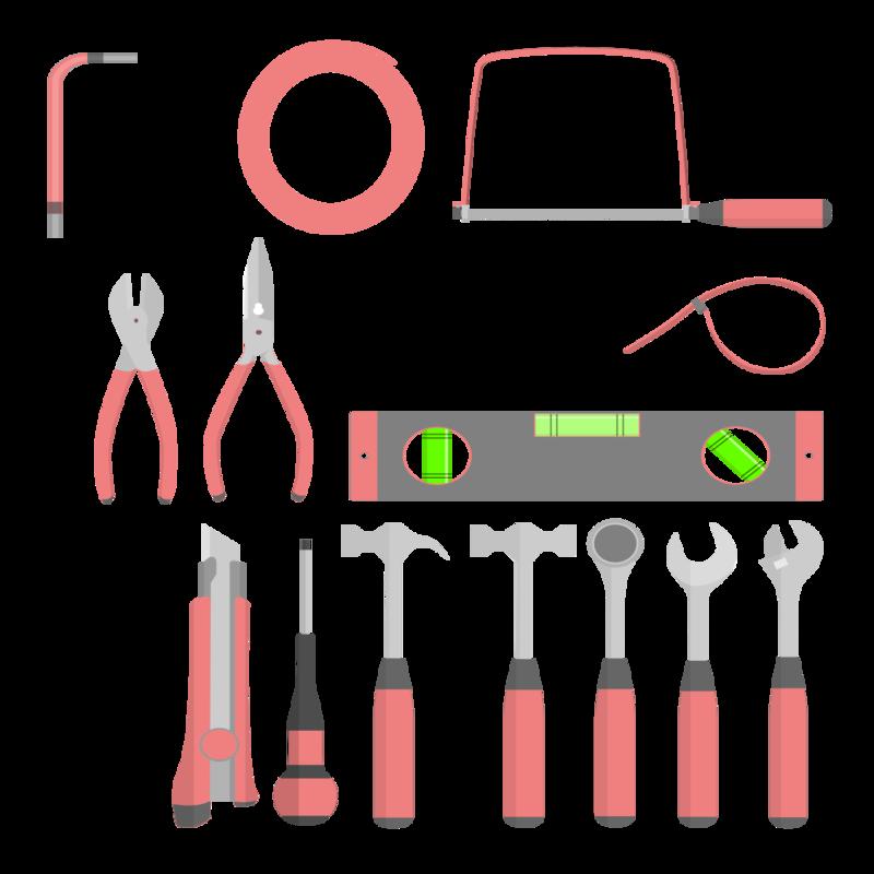 工具セット PNG