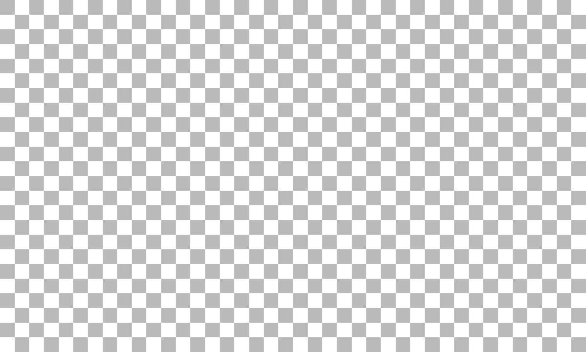 透過色のチェック柄 PNG