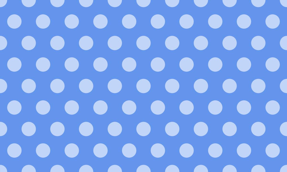淡い同系色の水玉模様 PNG