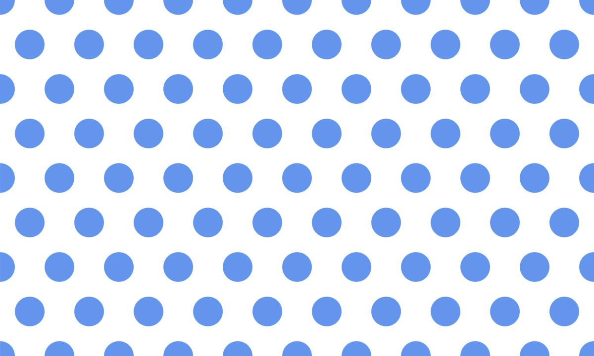 白背景の水玉模様 PNG