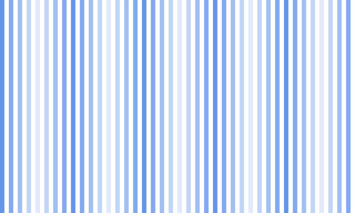 白地と各色グラデーションのストライプ PNG